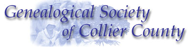 The Genealogical Society of Collier County