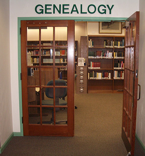 Genealogy Room at Naples Regional Library